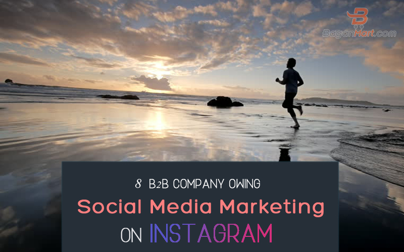 8 b2b company owing social media marketing on instagram